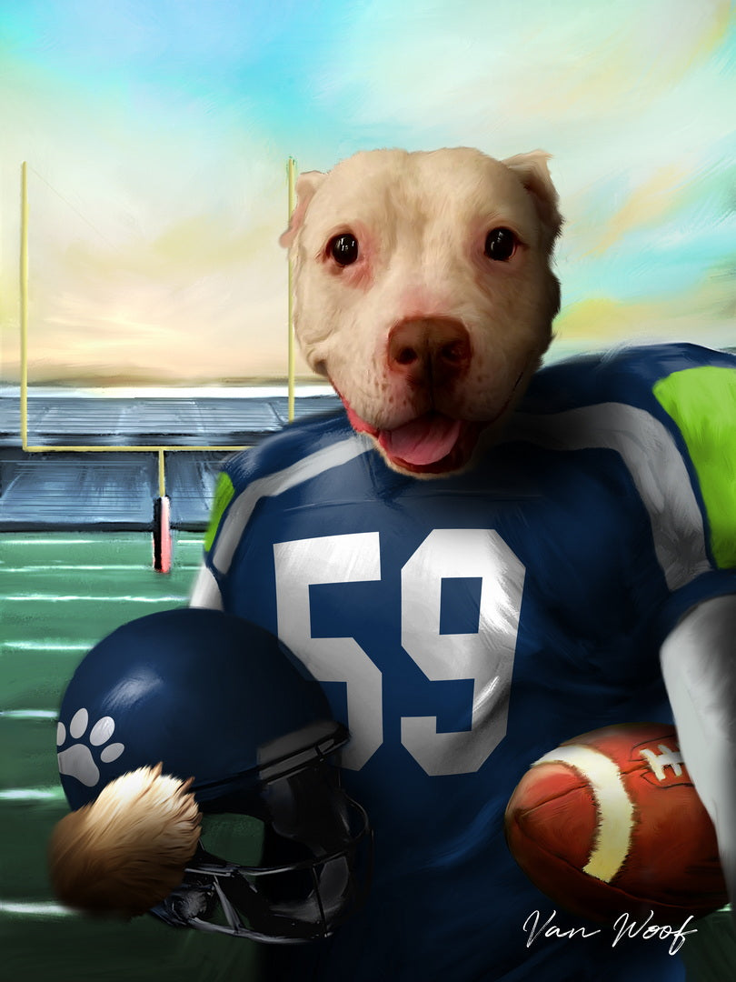 Seattle Football Player