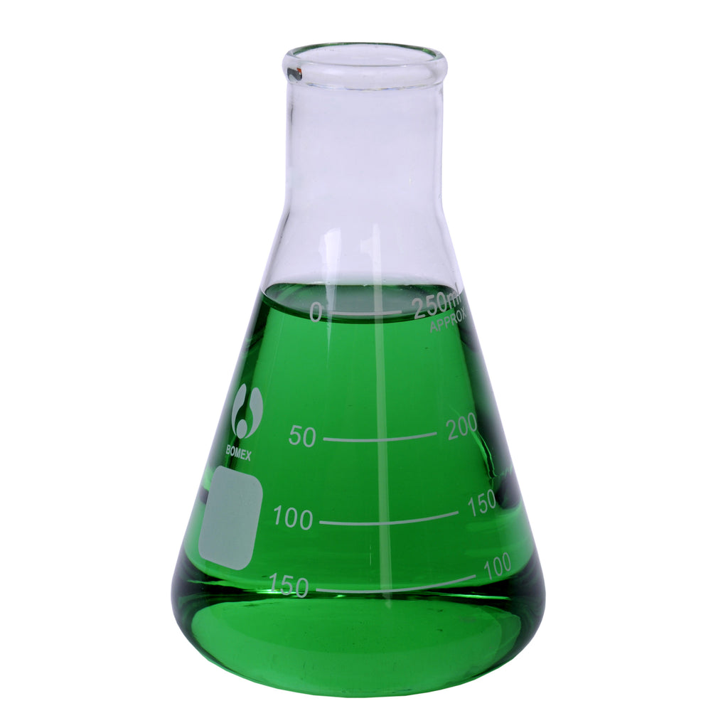 Flask, Erlenmeyer 250mL, glass