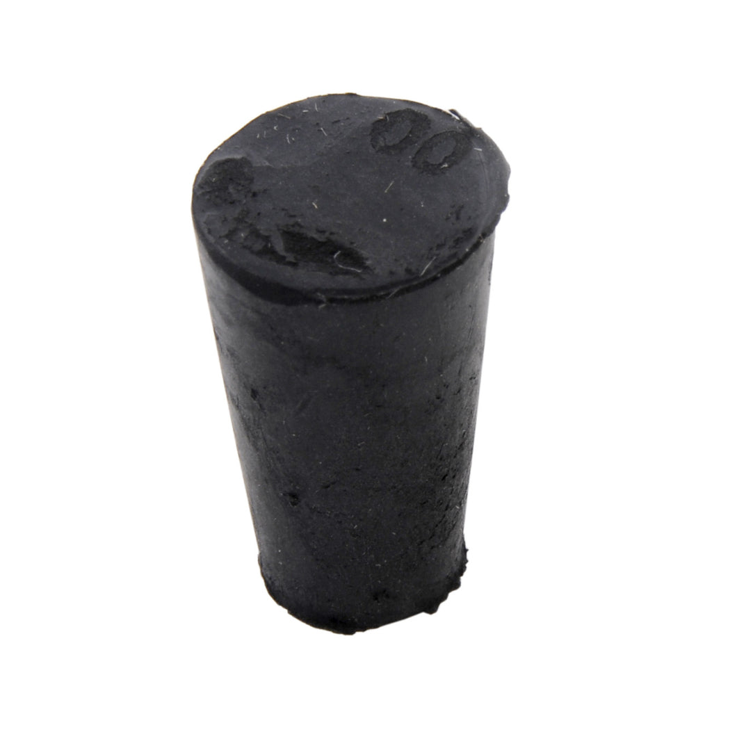 Rubber Stopper, solid, #00