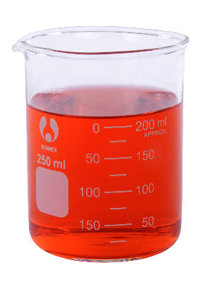 Beaker, 250mL, glass