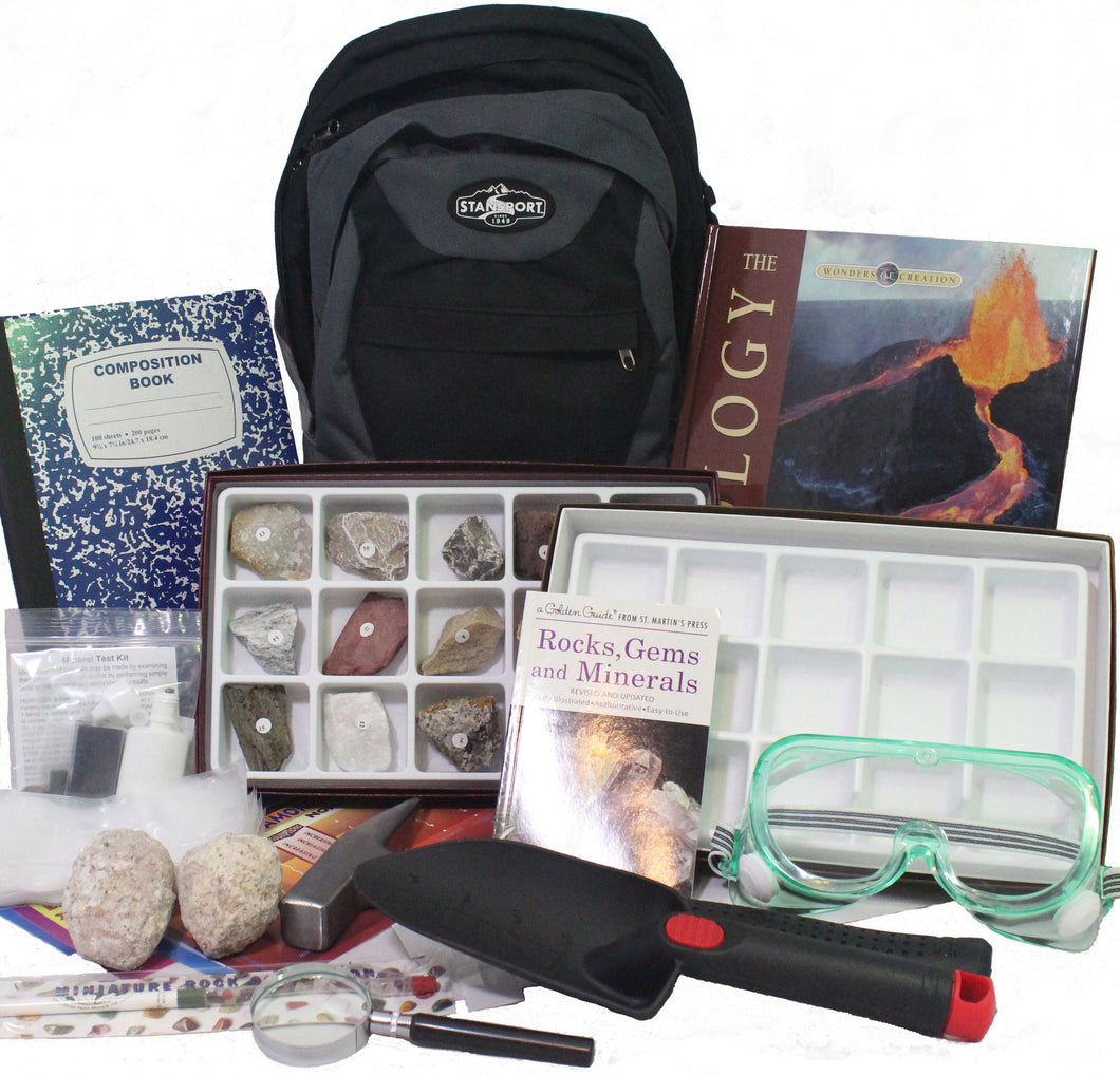 Geology Explorer Backpack Kit