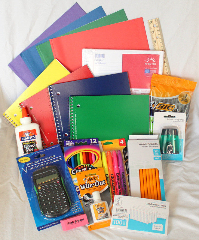Jr. High & High School Supply Kit