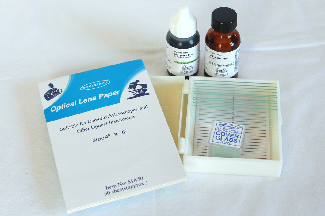 Make-Your-Own Microscope Slide Set