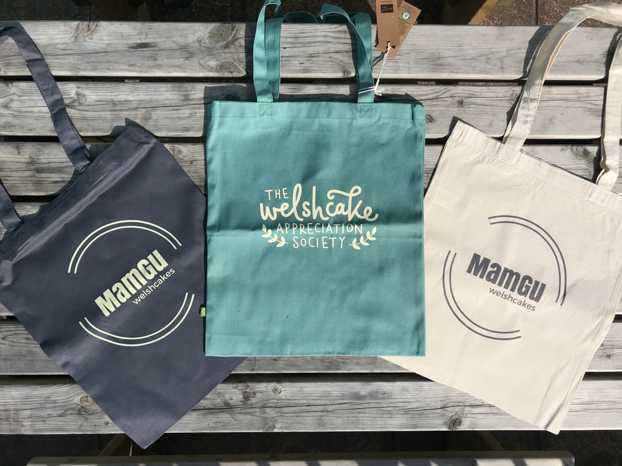 Welsh Cake Tote Bags