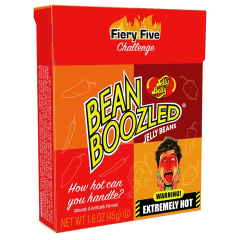 Jelly Belly BeanBoozled Fiery Five Challenge 1.6oz Box - Lucifer's House of Heat