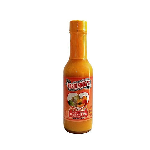 Marie Sharp's Pure Mango Habanero Pepper Sauce (5oz) - Lucifer's House of Heat