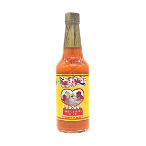 Marie Sharp's Garlic Habanero Pepper Sauce (10oz) - Lucifer's House of Heat