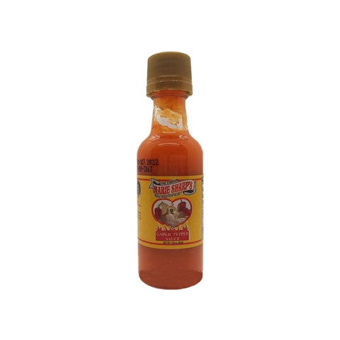 Marie Sharp's Garlic Habanero Pepper Sauce (50ml) - Lucifer's House of Heat