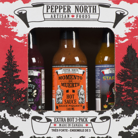 Pepper North Extra Hot 3-Pack Gift Set - Lucifer's House of Heat