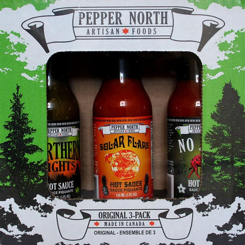 Pepper North Original 3-Pack Gift Set - Lucifer's House of Heat