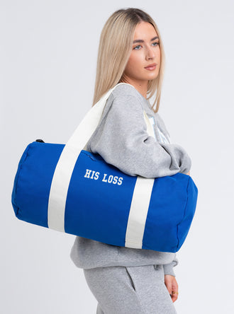 His Loss Barrel Bag