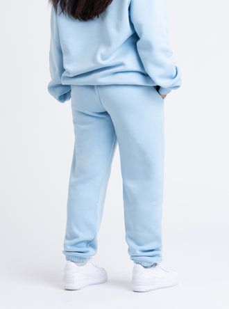 His Loss Baby Blue Jogging Bottoms