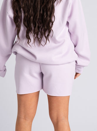 Lilac Don't Call Me Shorts