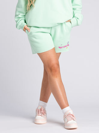 Mint Don't Call Me Shorts