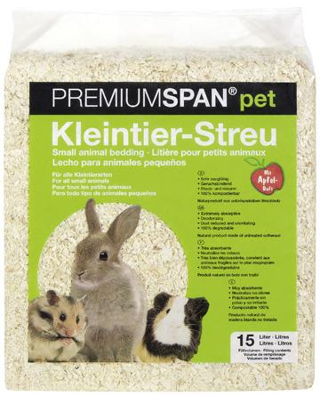 HVT PremiumSpan Bedding 15L - Apple Scent