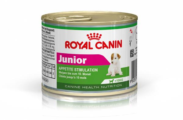 Royal Canin Mini Junior Wet Food (12x195g)