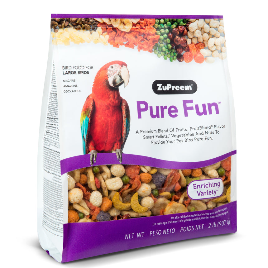 Zupreem Pure Fun Large Parrots 2lb