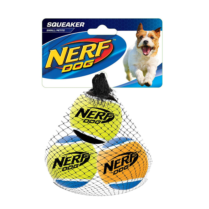 Hagen Squeaker Tennis Ball - Medium (pack of 3balls)
