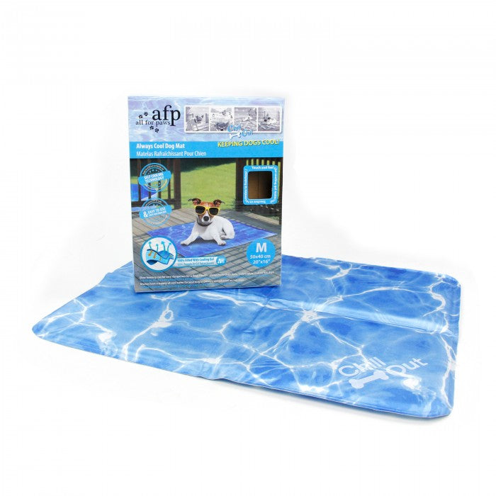 All for Paws Chill Out Always Cool Dog Mat - M