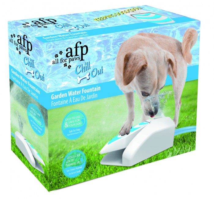 All for Paws Chill Out Garden Fountain (with Pressure Regulator)