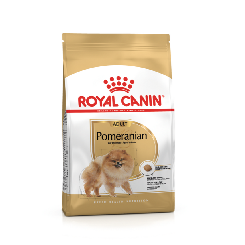 Royal Canin Breed Health Nutrition Pomeranian Adult 1.5 KG
