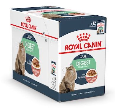 Royal Canin Digest Sensitive in Gravy Wet Food (12x85g)