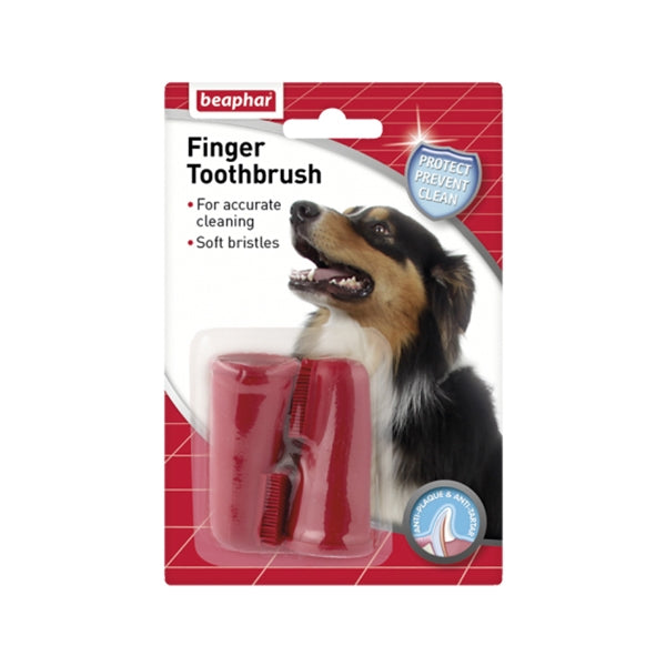 Beaphar Finger Toothbrush 2pc