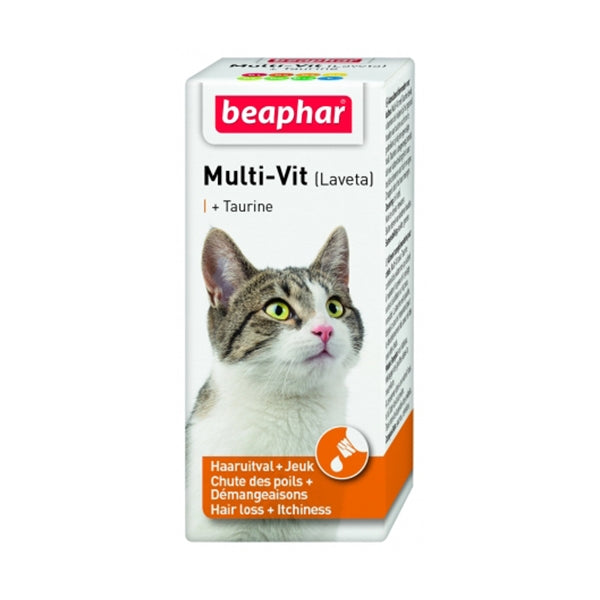 Beaphar Multi-Vit Cat 50ml