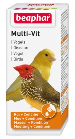 Beaphar Multi Vitamin Bird 20ml (New Formula)