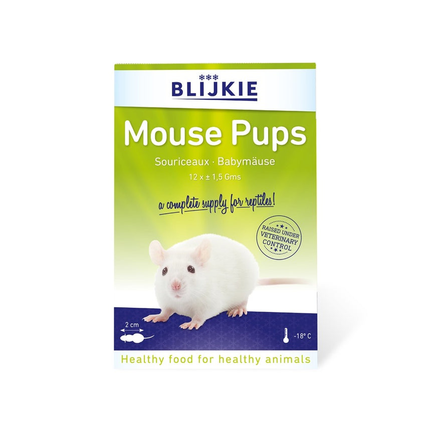 Frozen Mouse Pups (Pinkies) in blister pack 1.5g