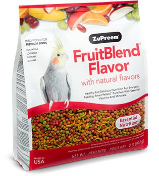 Zupreem FruitBlend Flavor for Medium Size Birds 17.5lb (7.94kg)