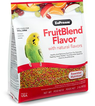 Zupreem FruitBlend Flavor for Small Birds 2lb