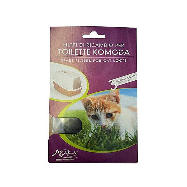 MPS2 Carbon Filters for Komoda Cat Litter Tray