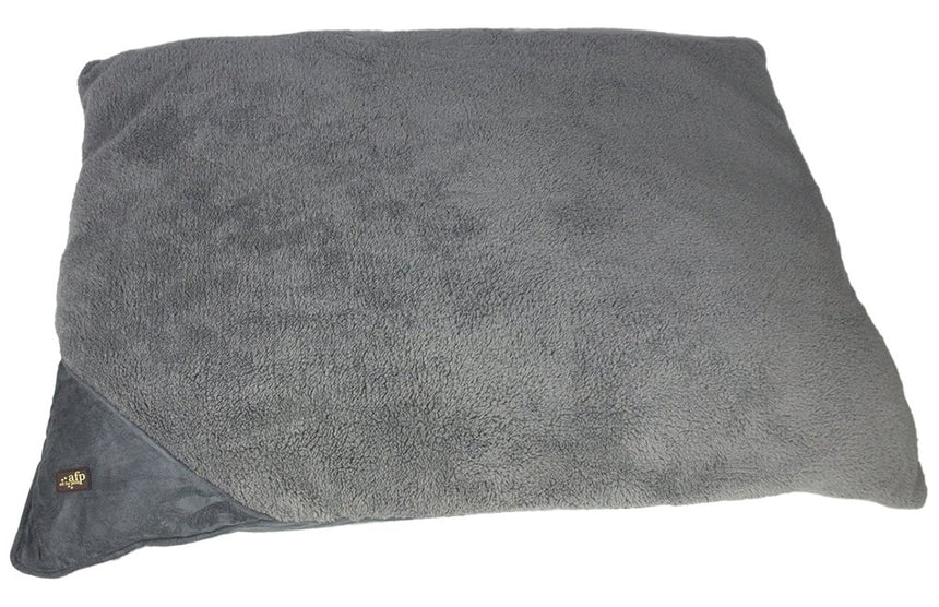 All for Paws Lambswool Pillow Bed - Small/Grey
