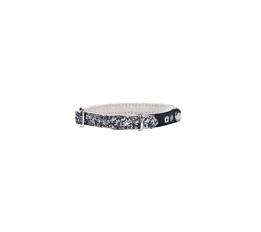 Bobby Power Cat Collar - Silver