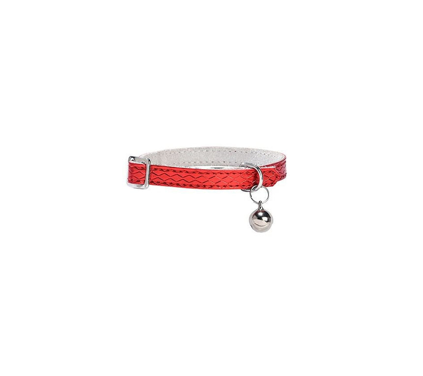 Bobby Power Cat Collar - Red