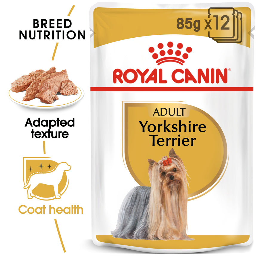 Royal Canin Yorkshire Terrier Adult Wet Food 85g