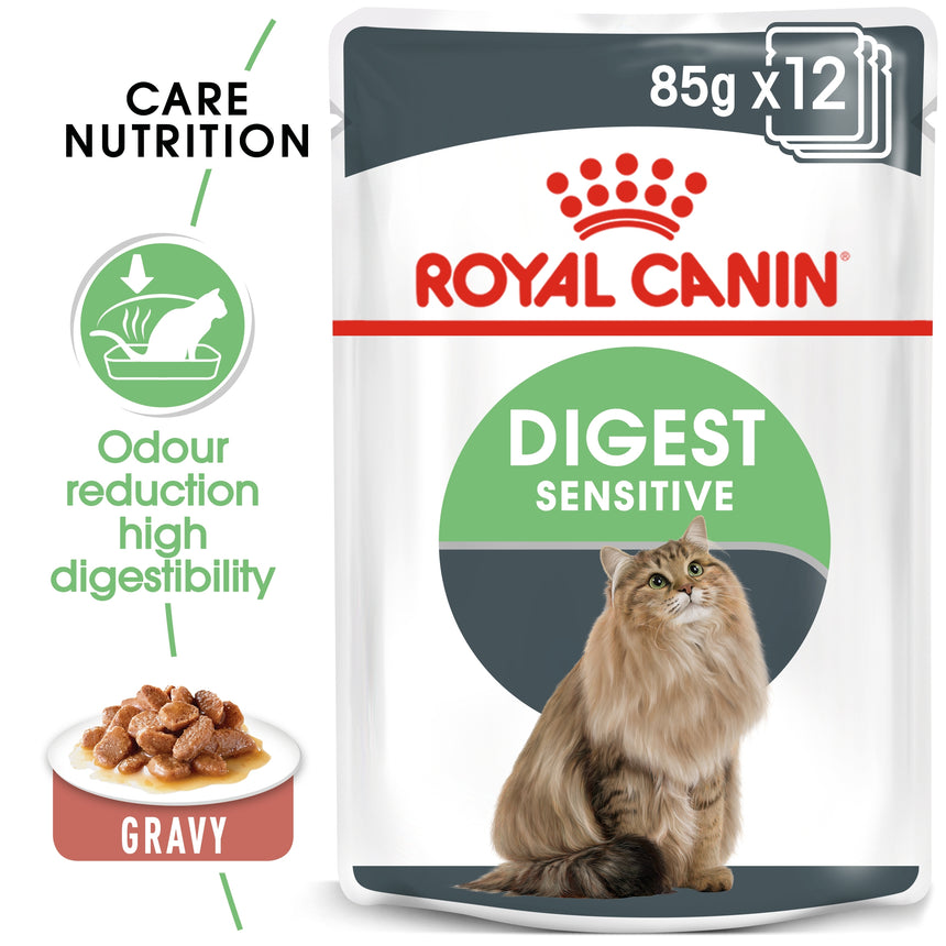 Royal Canin Digest Sensitive in Gravy Wet Food 85g