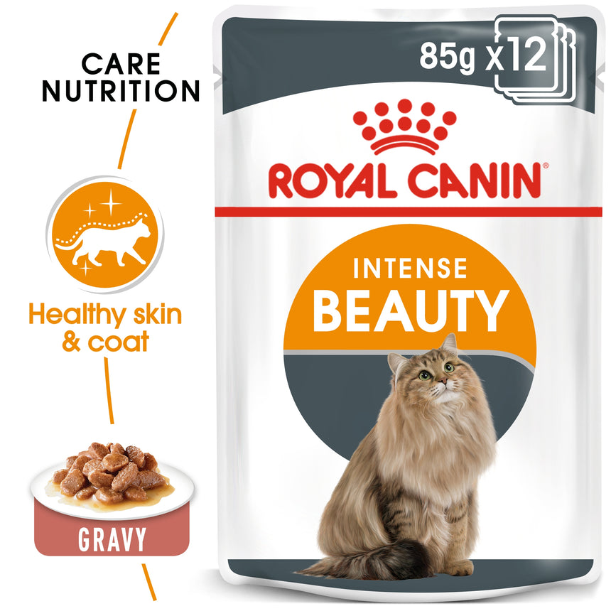 Royal Canin Intense Beauty in Gravy Wet Food 85g
