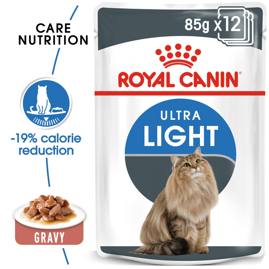 Royal Canin Ultra Light in Gravy Wet Food 85g