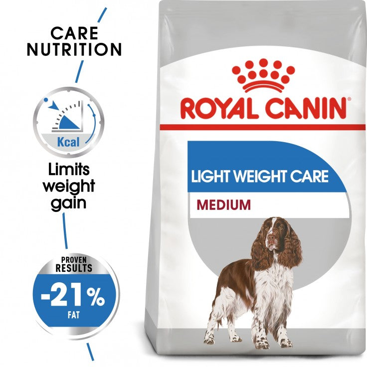 CANINE CARE NUTRITION MEDIUM LIGHT WEIGHT CARE 10 KG