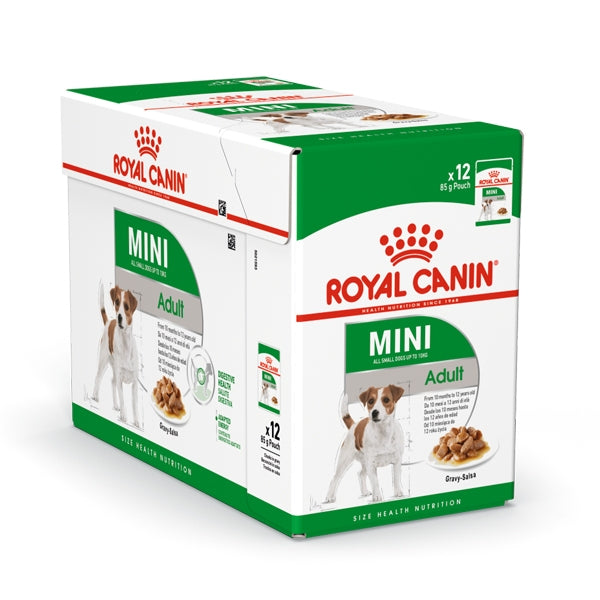 Royal Canin Mini Adult Wet Food (12x85g)
