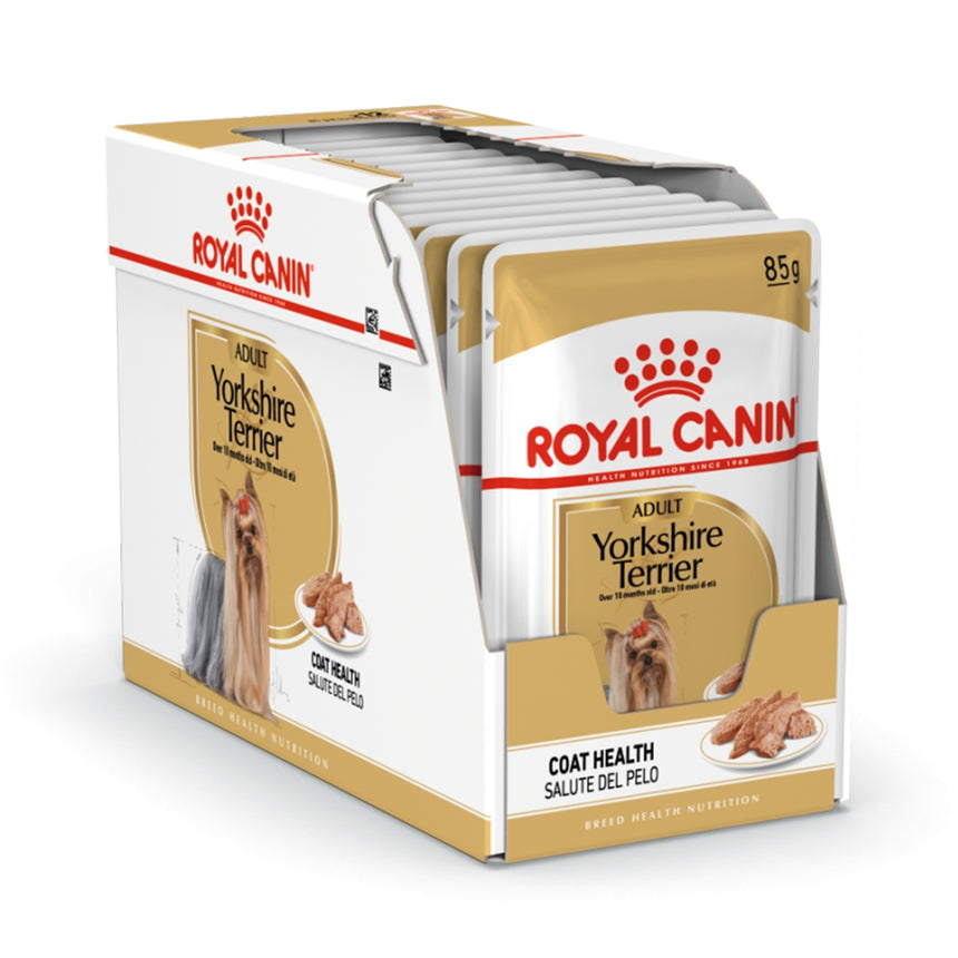 Royal Canin Yorkshire Terrier Adult Wet Food (12x85g)