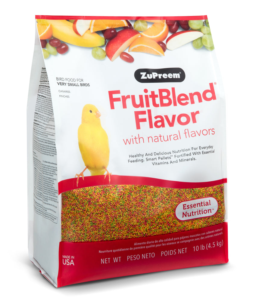 Zupreem FruitBlend Flavor for Extra Small Birds 10lb (4.54kg)