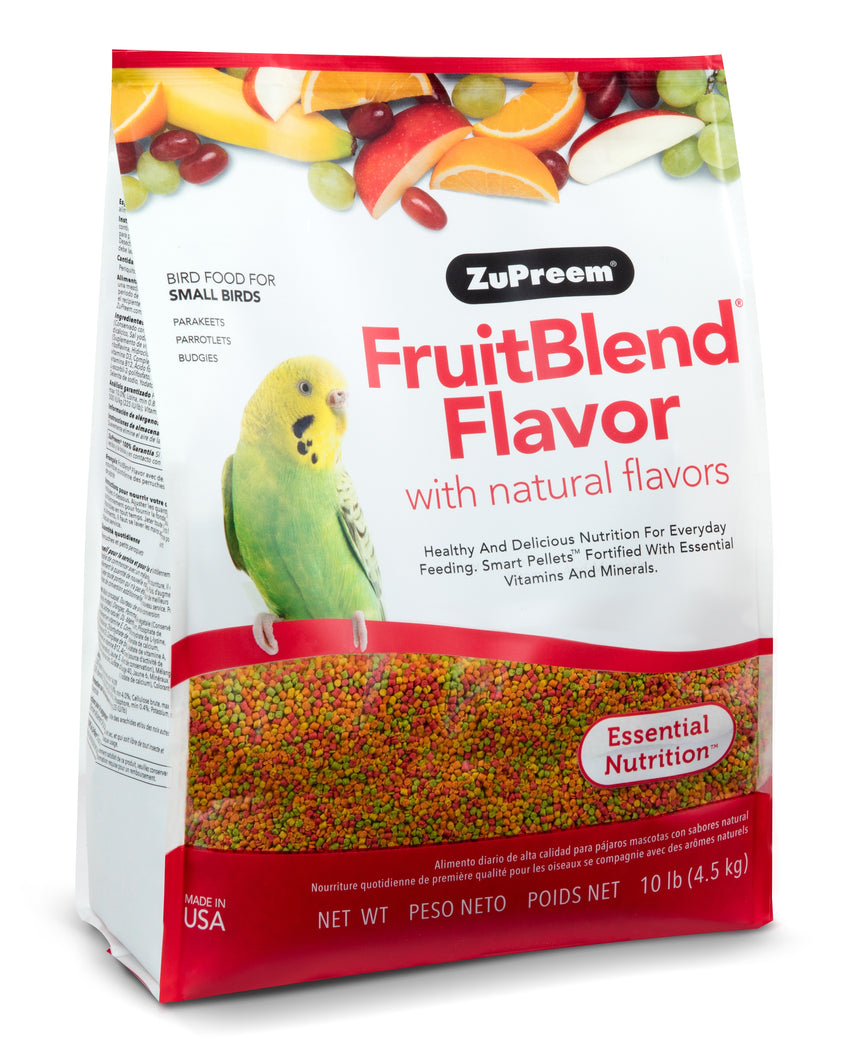 Zupreem FruitBlend Flavor for Small Birds 10lb (4.54kg)