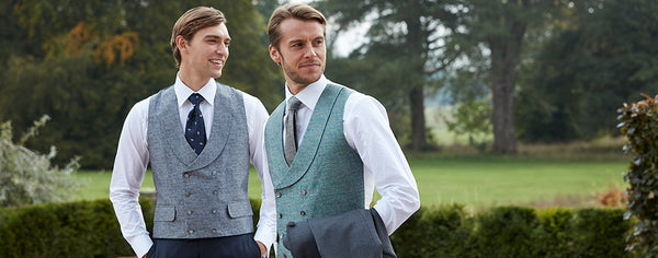 Waistcoats and weddings - a groom's primer