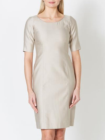CILLA MOTHER OF THE BRDIE DRESS MINERAL CONNAUGHT SILK