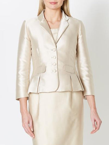 CASSIE JACKET OYSTER LISO TWILL