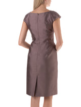 Dried Lavender Plain Connaught Bridgitte Dress