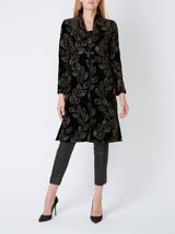Westminster coat Black Thetford Silk Velvet